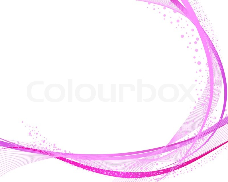 Abstract vector frame background with | Stock Vector | Colourbox