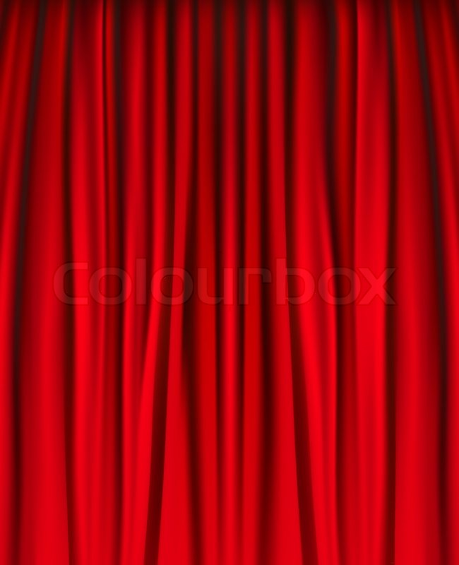 red velvet home theater curtains curtain material crossword picture on ...