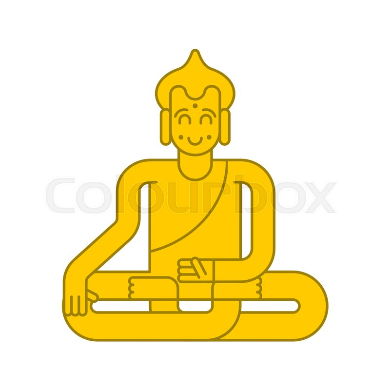 Buddha Golden Statue Meditation And Enlightenment Magic Attraction