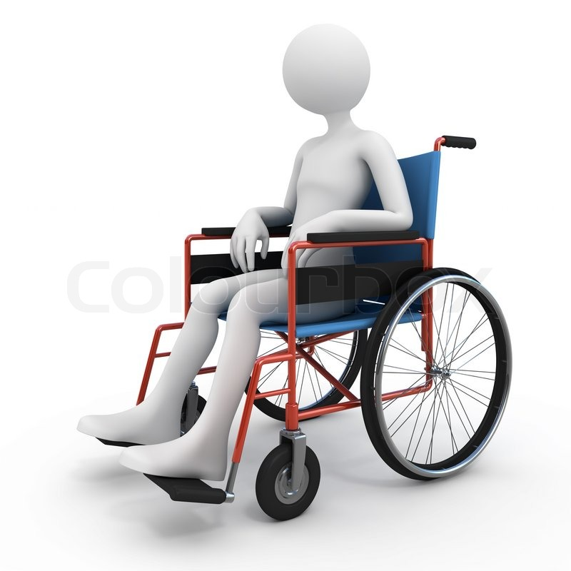 Handicapped person in wheelchair stock photo Handicapped wheelchair