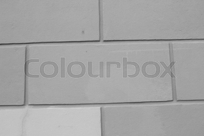 Stock image of 'Bricks on the wall'