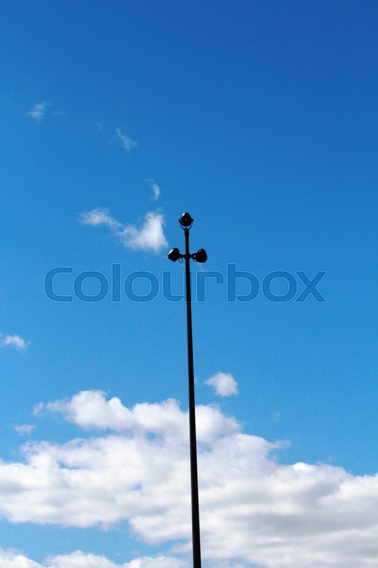 Stock image of 'Light post'
