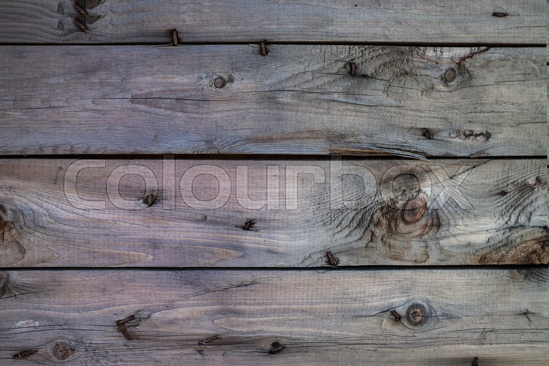Stock image of 'Wood brown tone texture background grunge horizontal old panels wooden board rustic plank '