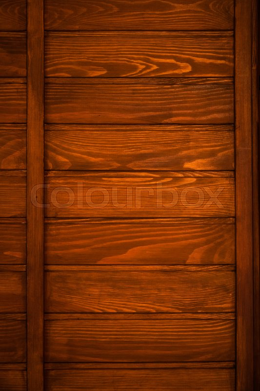 Stock image of 'Wood texture background grunge red tint door horizontal old panels wooden board rustic plank  '