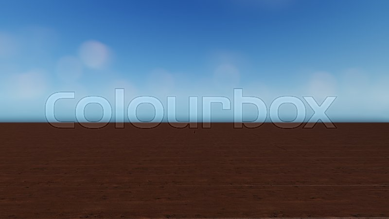 Stock image of 'Wood table top on colorful bokeh abstract background. 3D render.'