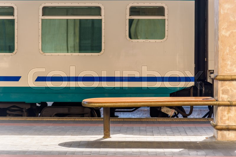 Stock image of 'View of the platforms of the train station of Santa Maria Novella in the center of Florence'