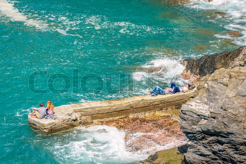 Stock image of 'blue, outdoor, vacation'