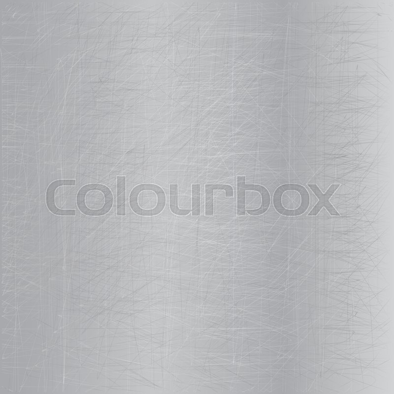 Stock image of 'Metallic texture. Steel sheet with scratches background.'