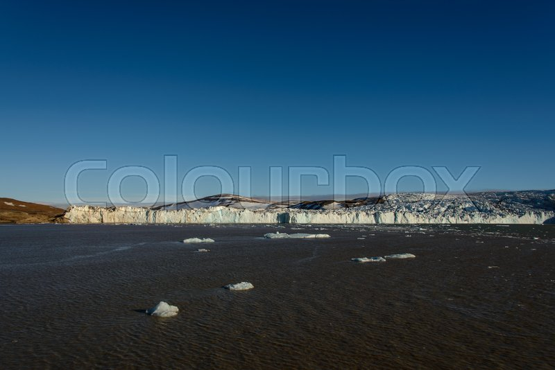 Stock image of 'Arctic landscape in Svalbard'