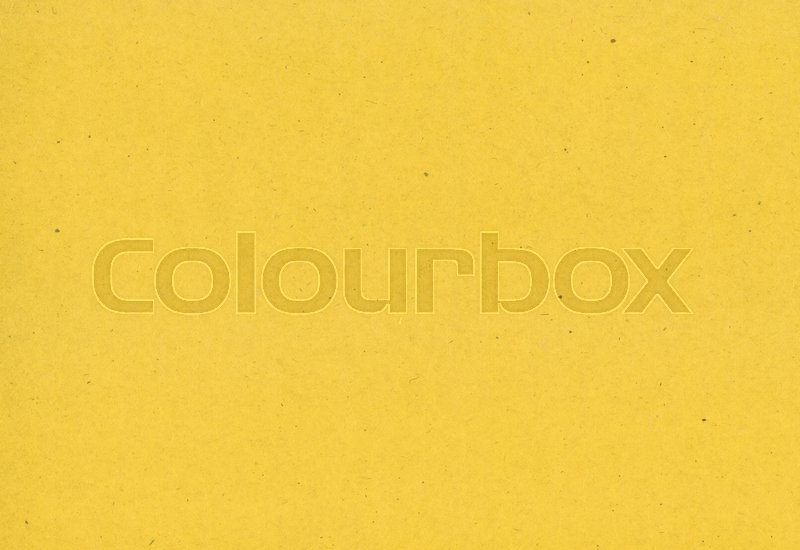 Stock image of 'Yellow old cardboard texture background, high resolution'