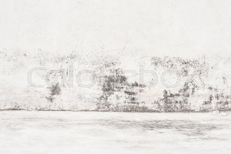 Stock image of 'Black and white Aged street concrete wall texture.Loft  style design ideas living home'