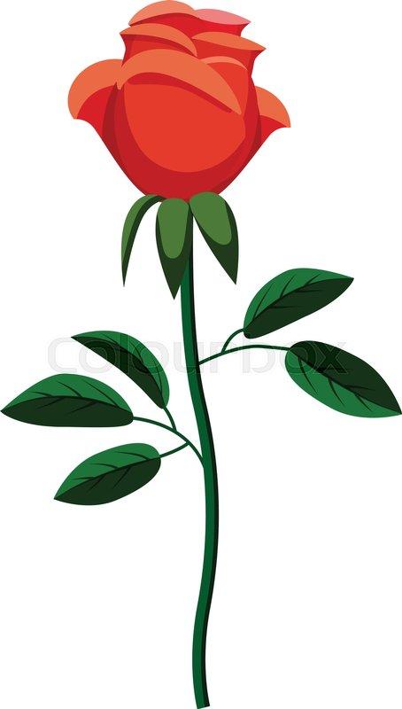 Rose Icon Cartoon Illustration Of Stock Vector Colourbox