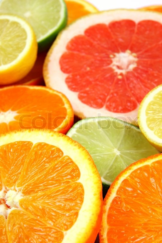 Stock image of 'Citrus Fruits'