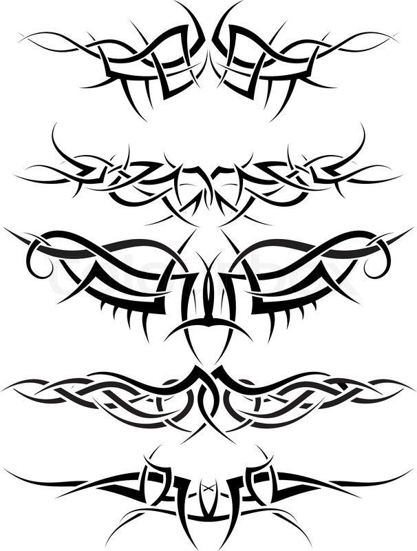 Free Download Tribal Tattoos F R Cken Und Arm Tattoovorlagen Designs