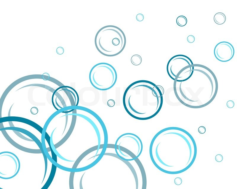 Abstract water vector background with bubbles of air for How to make bubbles liquid at home