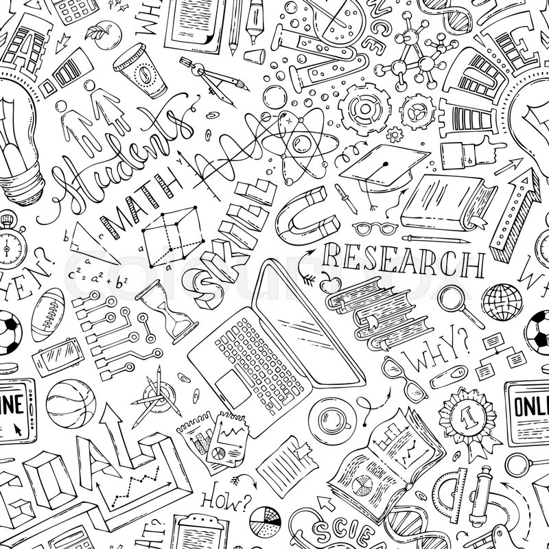 Science, math, technic, laboratory, ... | Stock Vector ...