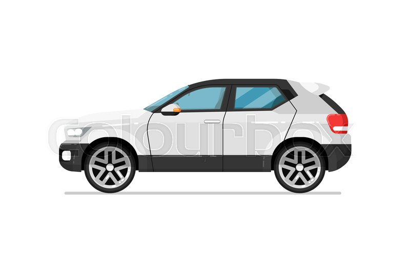 Modern suv car icon. Comfortable auto ... | Stock Vector ...