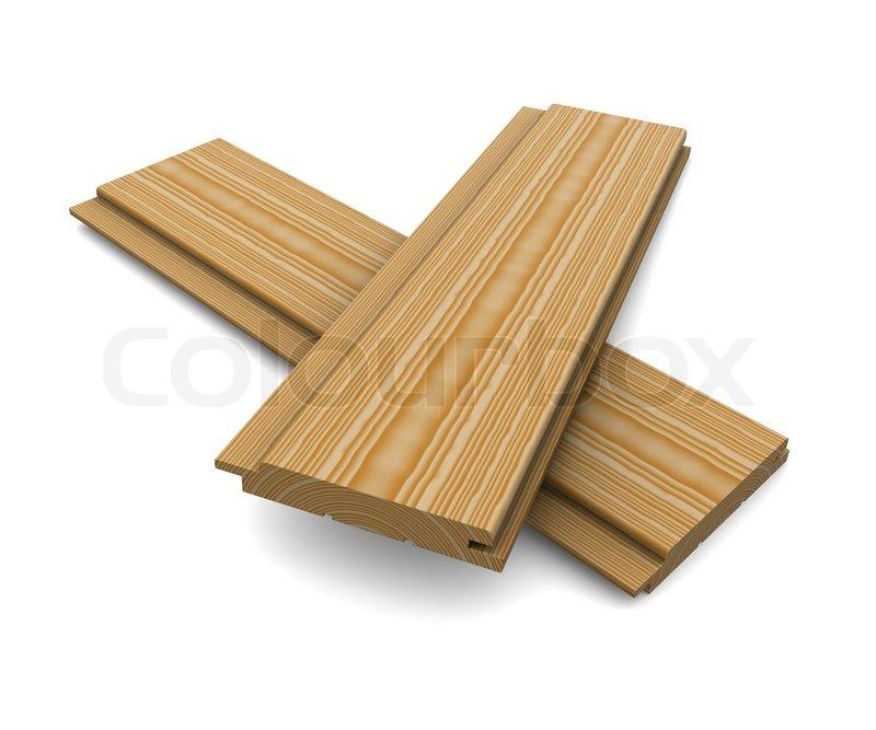 Two short wooden planks on a white background stock - Tablones de madera segunda mano ...