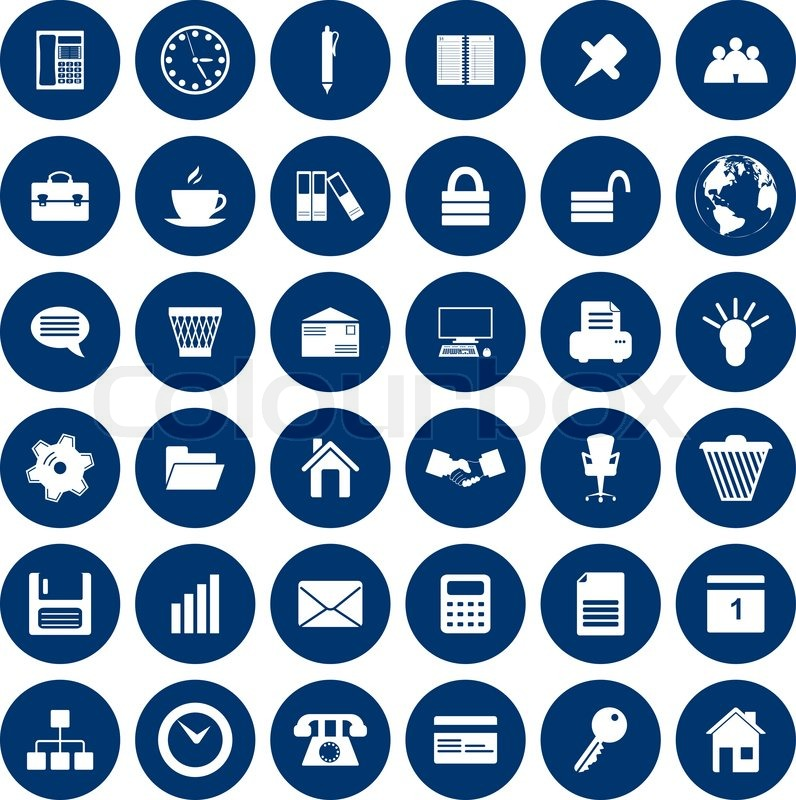 business and office set of different vector web icons yellow file folder clip art file folder clip art free