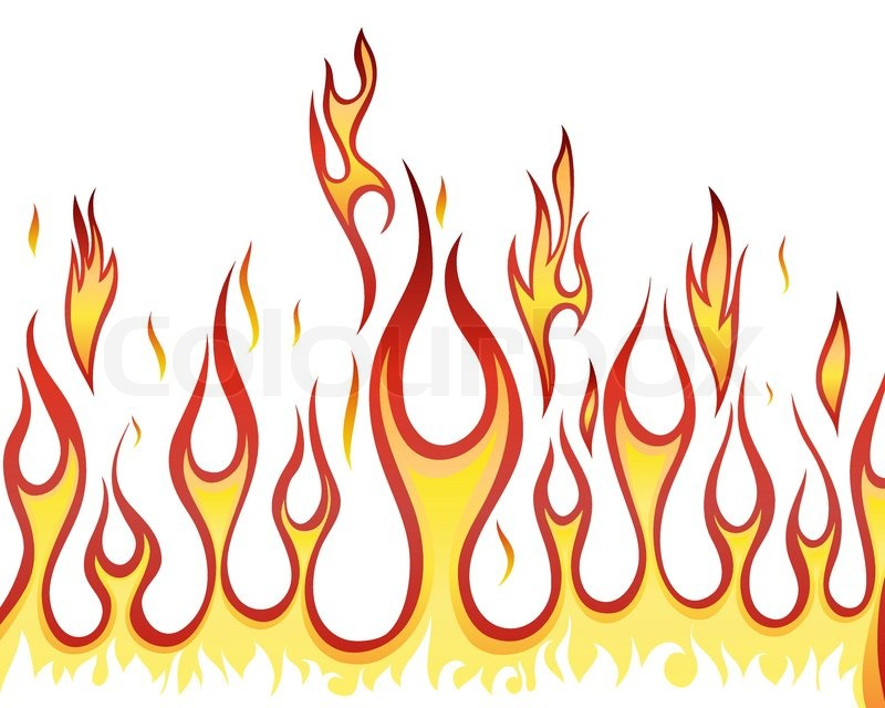 inferno fire vector background for design use stock Ribbon Banner Vector Awareness Ribbon Vector