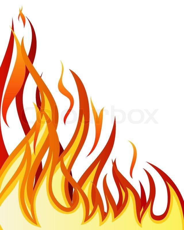 inferno fire vector background for design use stock vector colourbox rh colourbox com vector fire rate vector fire rate