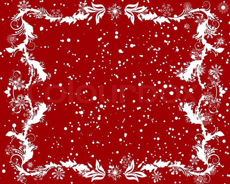 vector weihnachten neujahr rahmen f r design verwenden. Black Bedroom Furniture Sets. Home Design Ideas