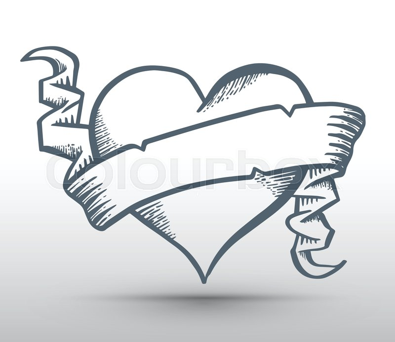 Drawings Of Hearts And...