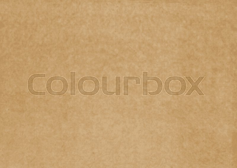 Brown Craft Paper Cardboard Texture Vector Stock Vector Colourbox