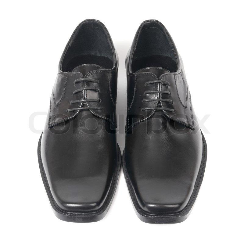 Black Tie Shinny Shoes