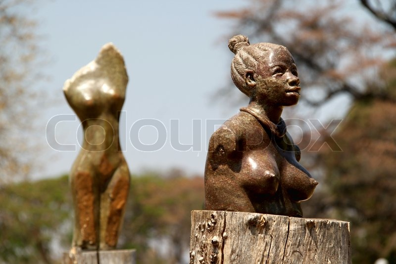 Stock image of 'Art in Zimbabwe'