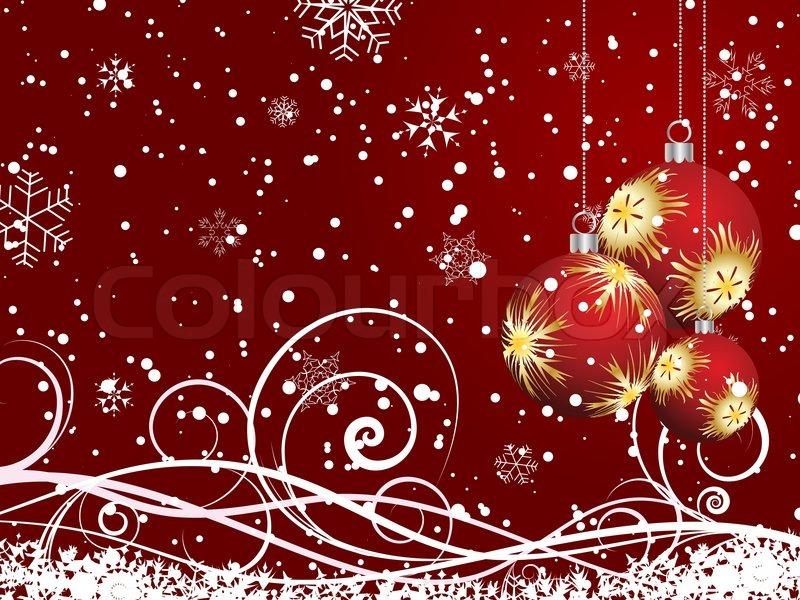 beautiful vector christmas new year background for design use stock vector colourbox