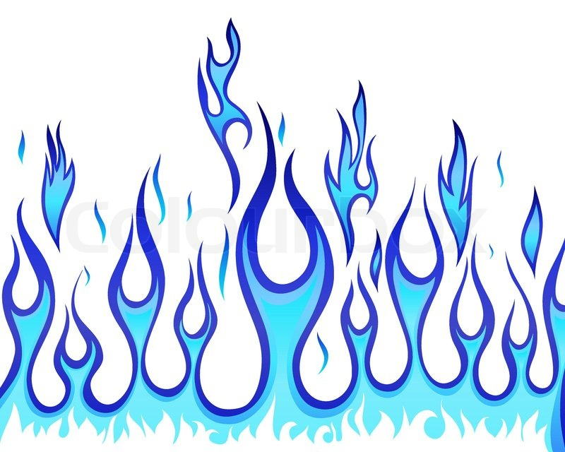 Stock vector of 'Inferno fire vector background for design use'