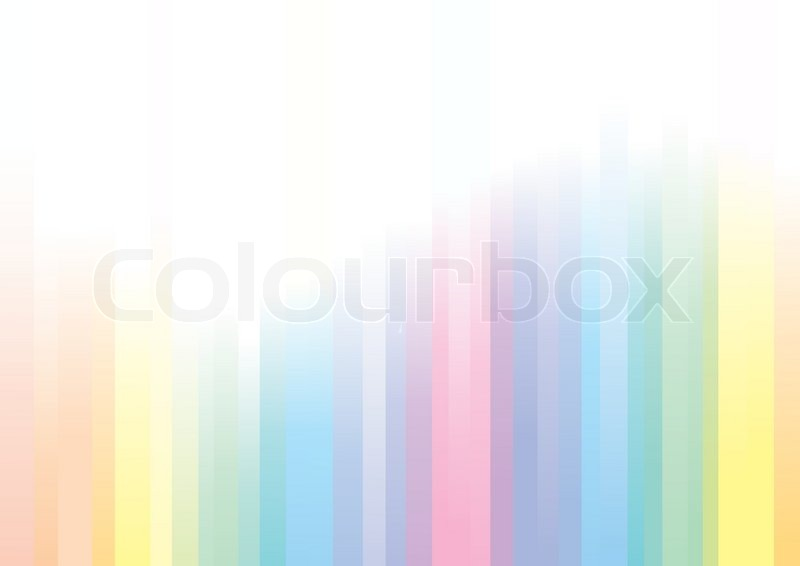 Pastel Shades abstract vector background, pastel shades | stock vector | colourbox