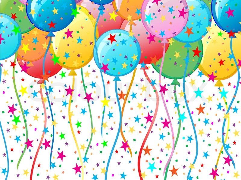 Balloon Background | Vector | Colourbox