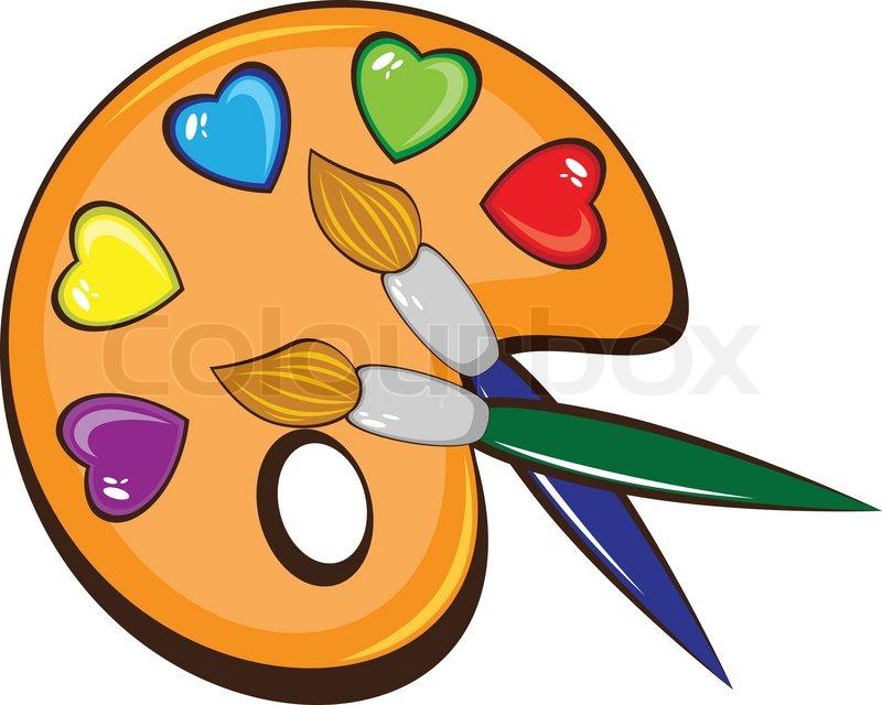 Images Of Cartoon Paint Brush