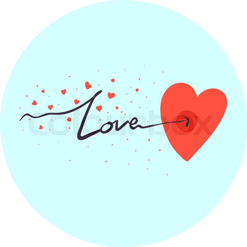 Herz, rahmen, ehe | Vektorgrafik | Colourbox