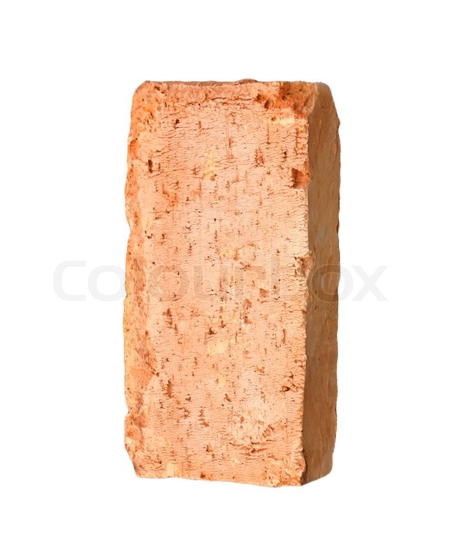 One Brick Stock Photo