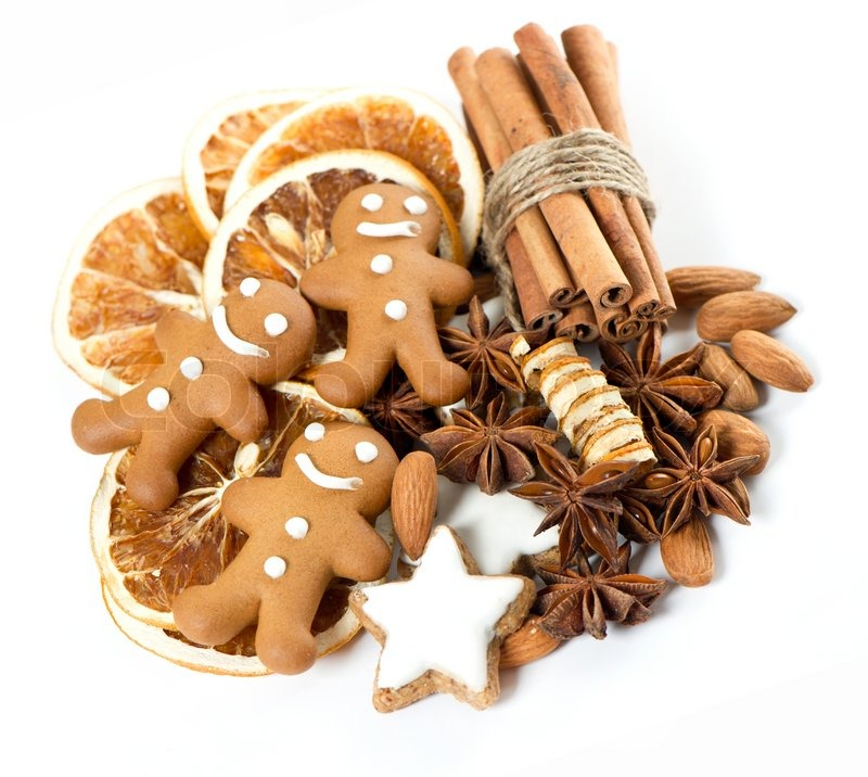 Gingerbread Man Cookies With Anise Stock Image Colourbox