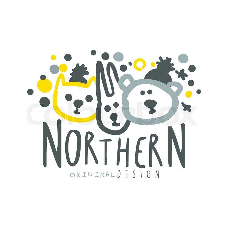 Nothern Logo Template Original Design Badge For Nothern Travel