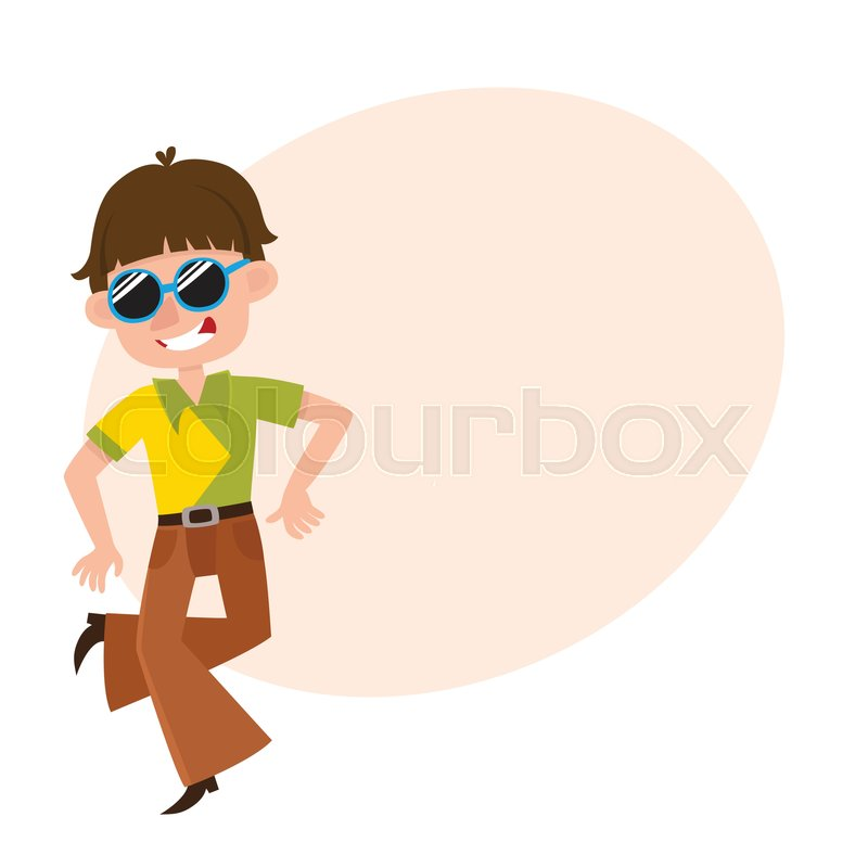 54add7206 Young man in retro sunglasses and ...
