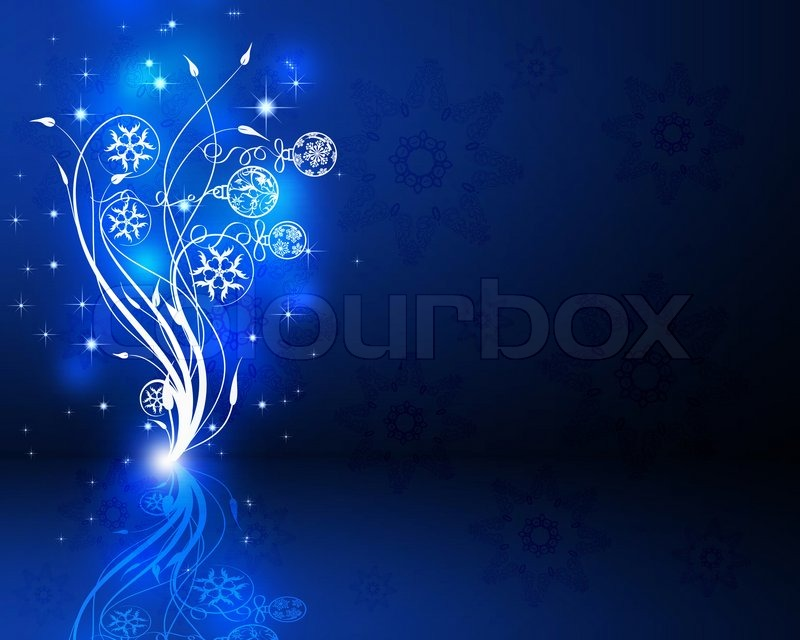 Colorful background on christmas and new year theme