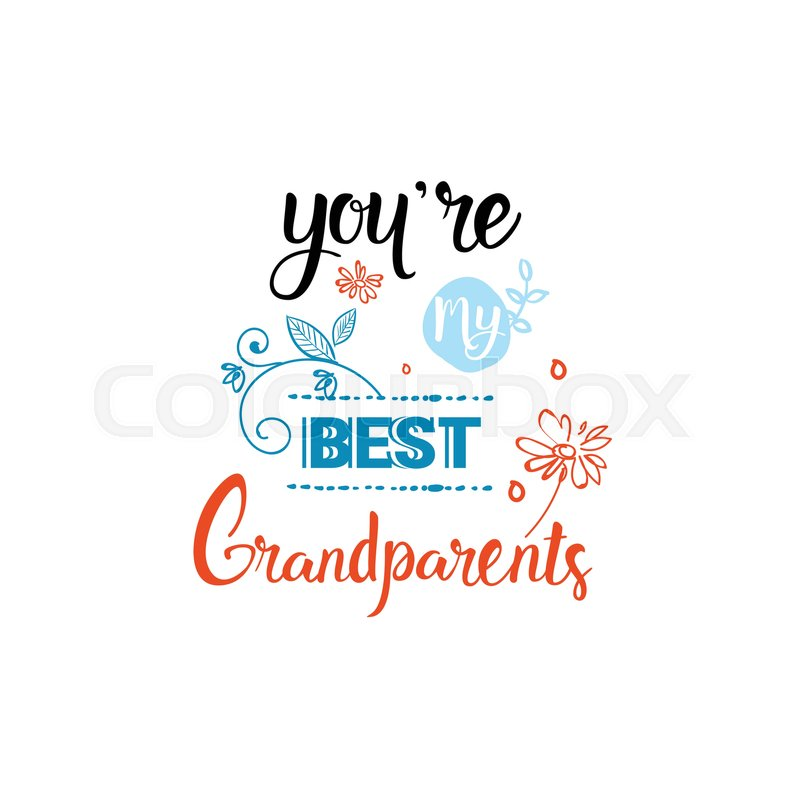 Happy grandparents day greeting card banner text over white happy grandparents day greeting card banner text over white background vector illustration vector m4hsunfo