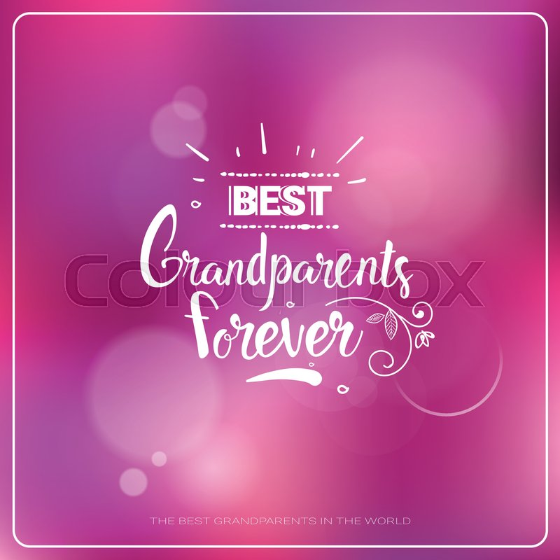 Happy grandparents day greeting card colorful banner with text happy grandparents day greeting card colorful banner with text vector illustration vector m4hsunfo