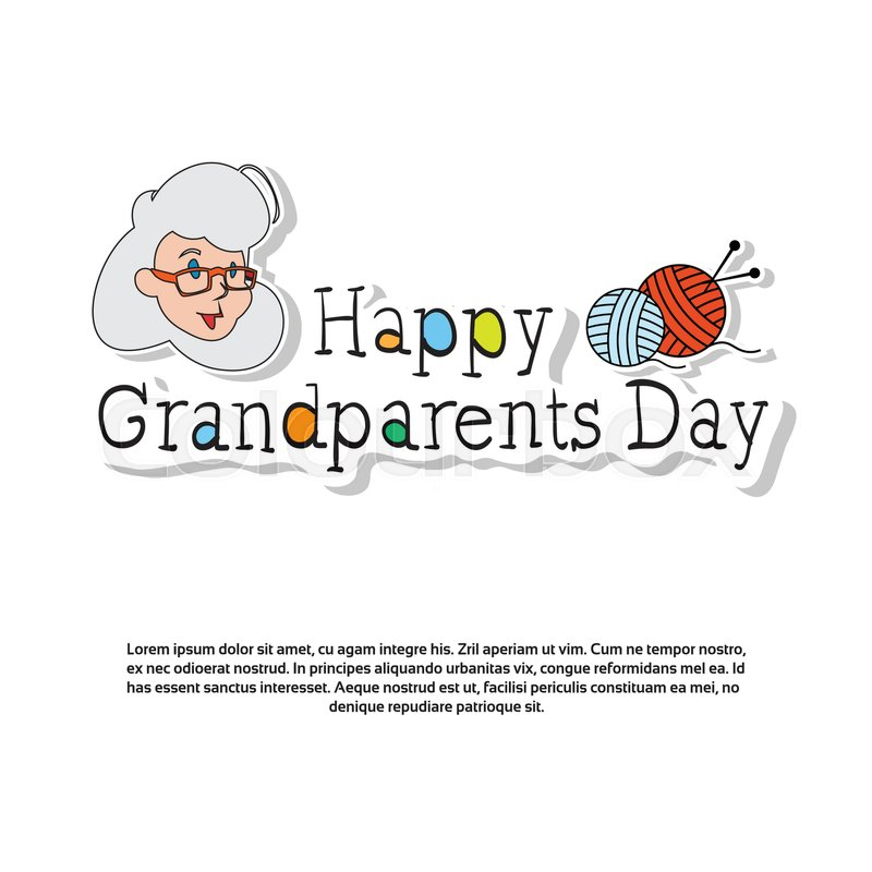 Happy grandparents day greeting card banner with copy space vector happy grandparents day greeting card banner with copy space vector illustration vector m4hsunfo
