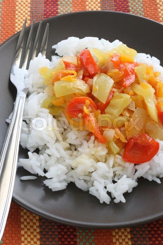 Рис с помидорами рецепт с фото пошагово