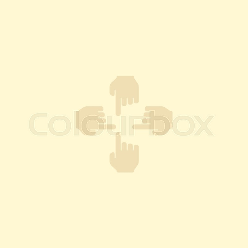 Flat icon multitouch element vector illustration of flat icon sensory isolated on clean background can be used as multi touch and sensory symbols