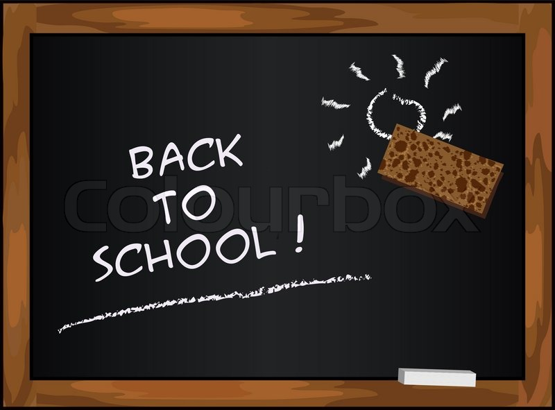 Blackboard black - back to school chalkboard | Stock ...