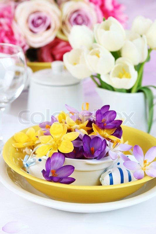 Eier deko dekorieren stockfoto colourbox - Eier dekorieren ...