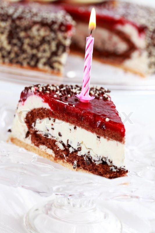 Delicious Stracciatella Birthday Cake