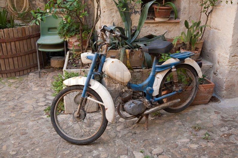 Retro mopeds 12